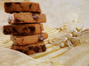 Coffee & Chocolate Chip Shortbread
