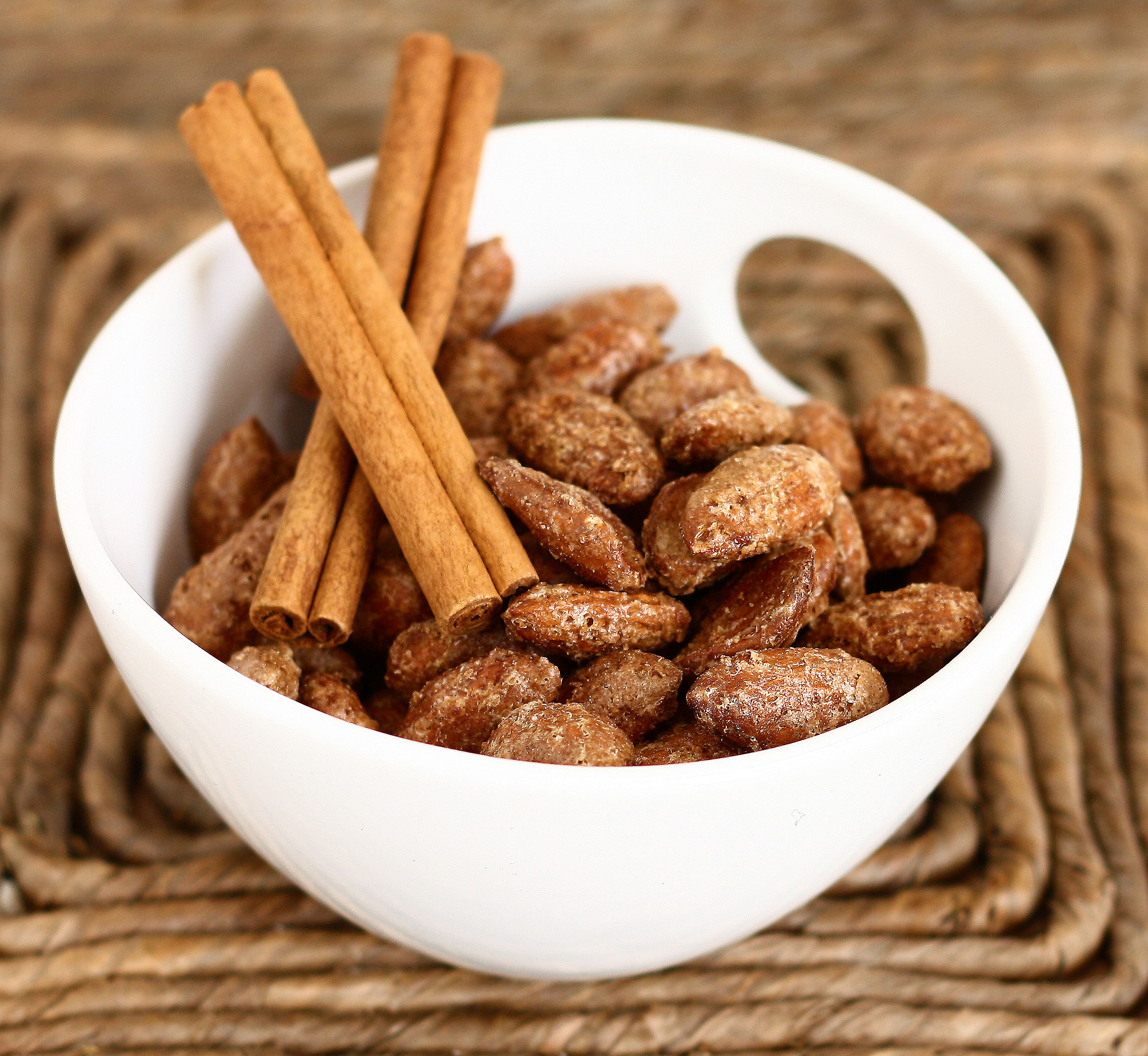 Cinnamon Roasted Almonds | Culinary Adventures in the Kitchen
