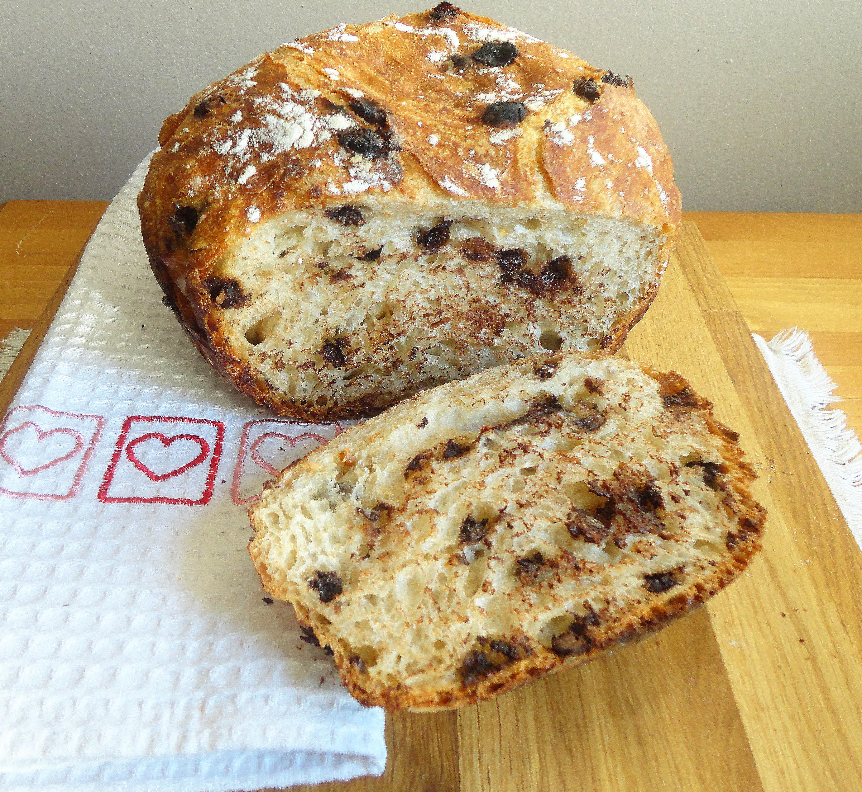 Chocolate-Chili No Knead Bread | Culinary Adventures in ...