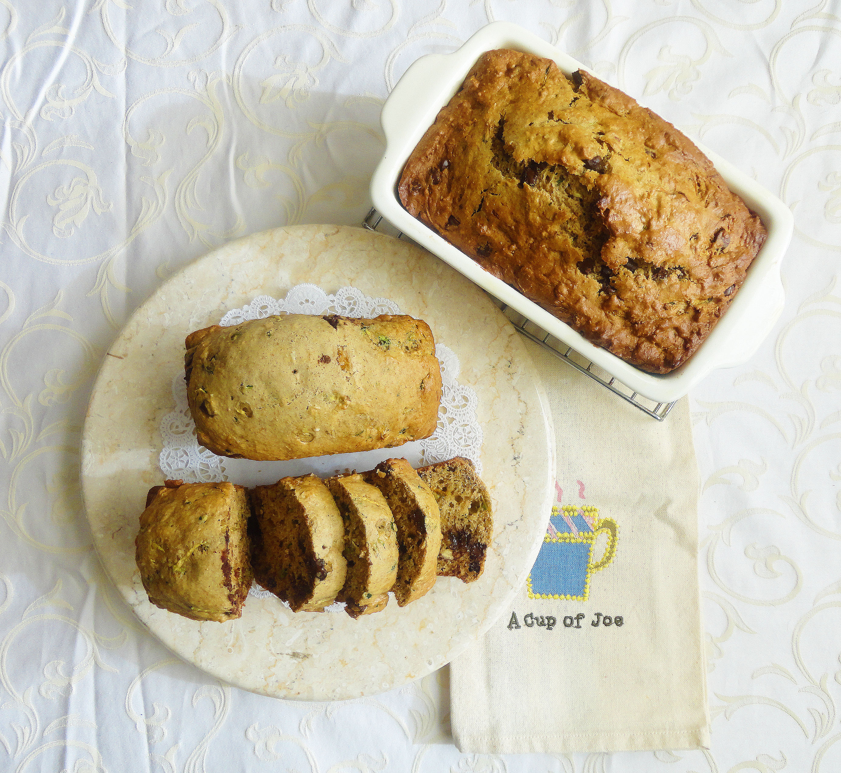 Chocolate Chip Orange Zucchini Bread | Culinary Adventures in the ...