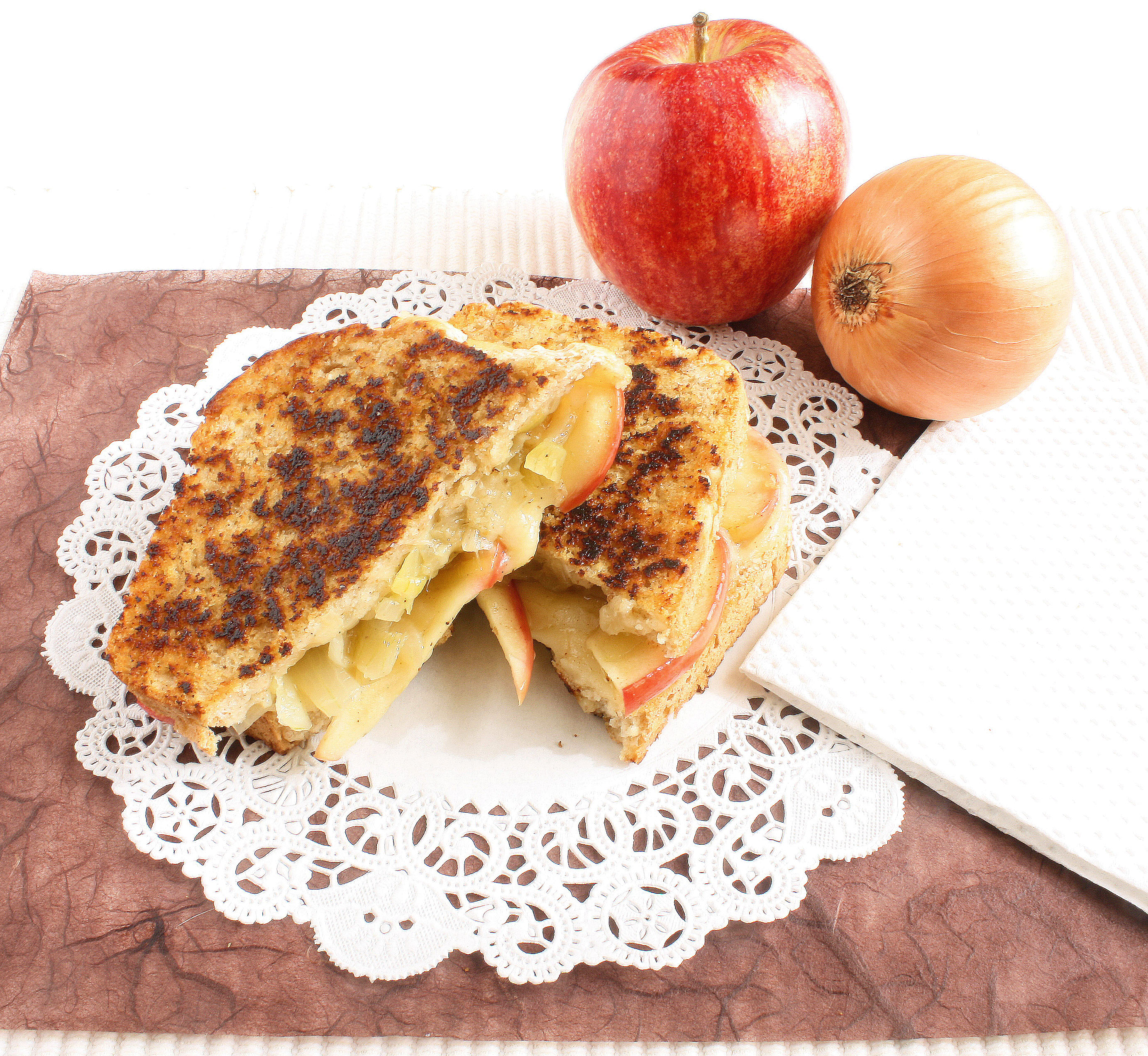 Beer Bread Caramelized Onion Grilled Cheese Sandwich Recipe ...