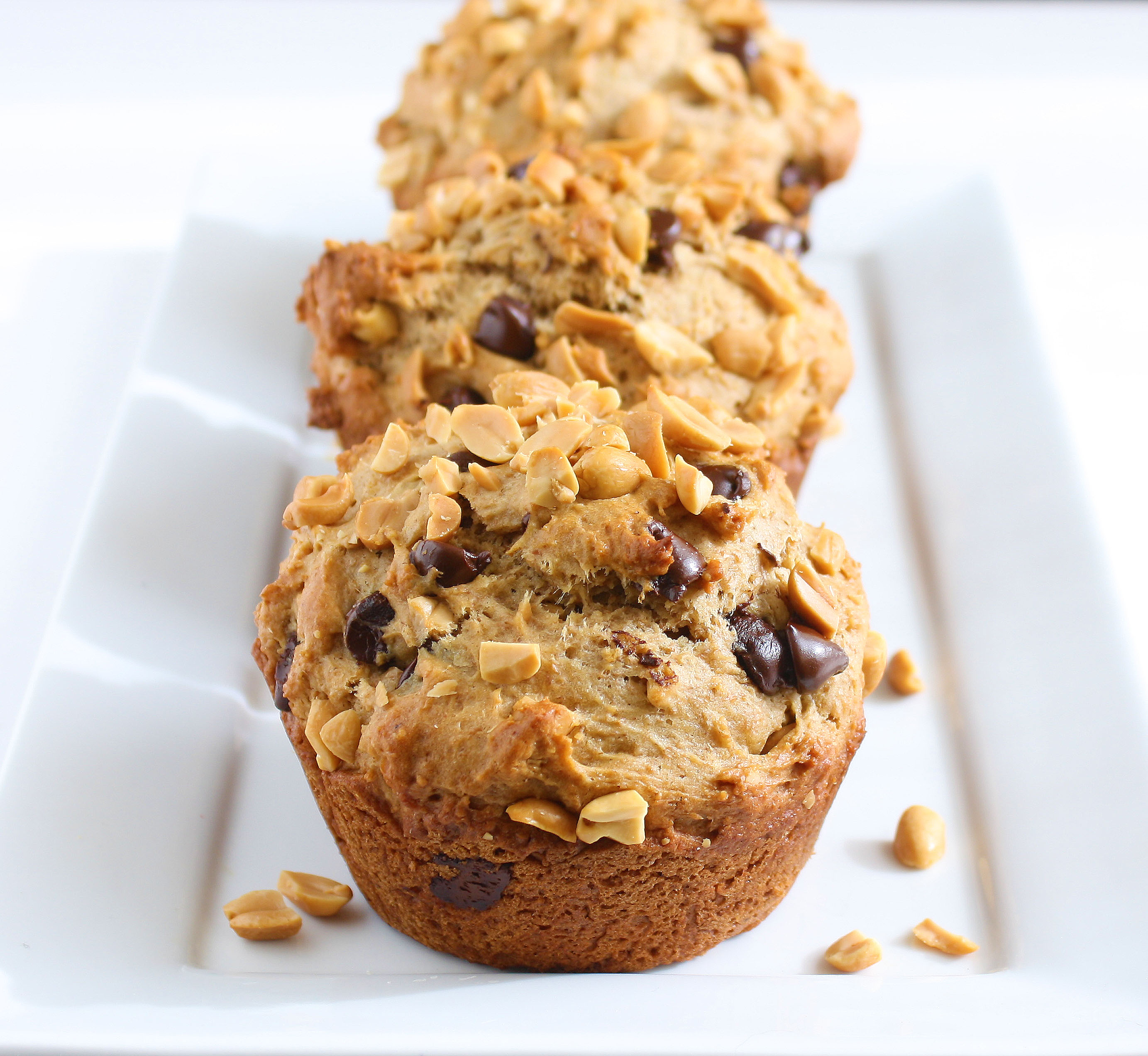 Whole Wheat Peanut Butter Muffins