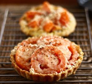 Tomato Onion Tarts